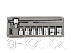 Набор инструментов торцовые головки STAYER 27581-H8, STANDARD, хромированное покрытие, 8 предметов