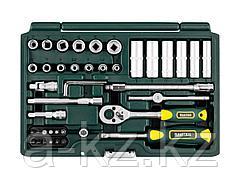 Набор инструментов торцевые головки и биты KRAFTOOL 27885-H42_z02, EXPERT QUALITAT SUPER LOCK, с присоединительным квадратом, 42 предмета