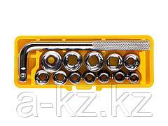 Набор инструментов торцовые головки STAYER 2-26089-H13, MASTER POCKET, в пластиковом боксе, 13 предметов