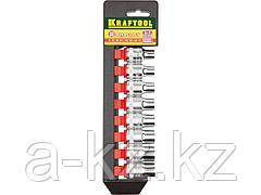 Набор инструментов торцовые головки KRAFTOOL 27863-H8_z01, EXPERT QUALITAT SUPER LOCK, 8 предметов