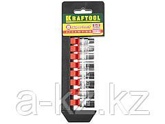 Набор инструментов торцовые головки KRAFTOOL 27860-H8_z01, EXPERT QUALITAT SUPER LOCK, 8 предметов