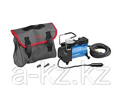 Автомобильный компрессор ЗУБР 61127, ЭКСПЕРТ, давление 10 атм., длина провода 3 м, длина шланга 2 м, 3 насадки