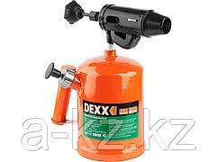 Паяльная лампа бензиновая DEXX 40657-1.5, стальная, 1,5 л