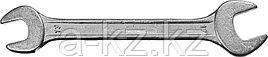 Ключ рожковый гаечный СИБИН, белый цинк, 13х17мм