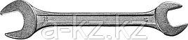 Ключ рожковый гаечный СИБИН, белый цинк, 19х22мм
