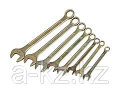 Гаечный комбинированный ключ набор STAYER ТЕХНО  12-27мм, 8 предметов, 27094-H8