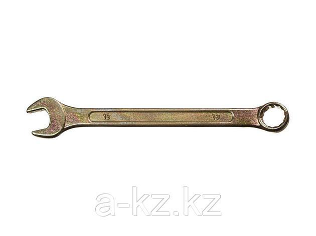 Гаечный ключ комбинированный DEXX, желтый цинк, 13 мм, фото 2