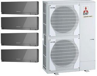 Наружные блоки канальных кондиционеров Mitsubishi Electric Mr. Slim серии Standard Inverter, R410A