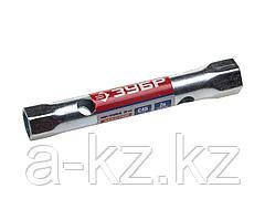 Ключ торцовый ЗУБР МАСТЕР, трубчатый двухсторонний, прямой, 12х13мм, 27162-12-13