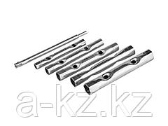 Набор ключей STAYER трубчатые 8 - 17 мм, 6 предметов, 2719-H6