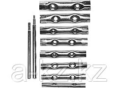 Набор ключей DEXX: трубчатые, 6-22мм, 10 предметов, 27192-H10