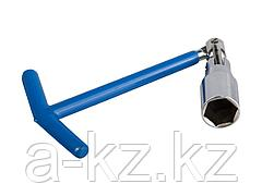 Ключ свечной ЗУБР ЭКСПЕРТ с шарниром, 21мм, 27501-21