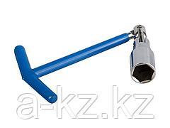 Ключ свечной ЗУБР ЭКСПЕРТ с шарниром, 16мм, 27501-16