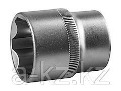Торцовая головка ЗУБР 27725-24_z02, МАСТЕР, (1/2), Cr-V, SUPER LOCK, хроматированное покрытие, 24 мм