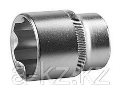 Торцовая головка ЗУБР 27725-27_z02, МАСТЕР, (1/2), Cr-V, SUPER LOCK, хроматированное покрытие, 27 мм