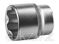 Торцовая головка ЗУБР 27725-32_z02, МАСТЕР, (1/2), Cr-V, SUPER LOCK, хроматированное покрытие, 32 мм