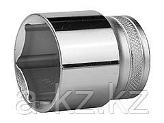 Торцовая головка KRAFTOOL 27801-27_z01, INDUSTRIE QUALITAT, Cr-V, SUPER-LOCK, хромосатинированная, 1/2, 27 мм