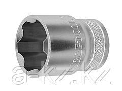 Торцовая головка KRAFTOOL 27801-22_z01, INDUSTRIE QUALITAT, Cr-V, SUPER-LOCK, хромосатинированная, 1/2, 22 мм