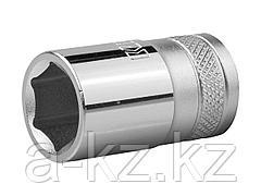 Торцовая головка KRAFTOOL 27805-15_z01, INDUSTRIE QUALITAT, Cr-V, FLANK, хромосатинированная, 1/2, 15 мм