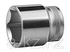 Торцовая головка KRAFTOOL 27805-30_z01, INDUSTRIE QUALITAT, Cr-V, FLANK, хромосатинированная, 1/2, 30 мм