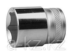Торцовая головка KRAFTOOL 27805-27_z01, INDUSTRIE QUALITAT, Cr-V, FLANK, хромосатинированная, 1/2, 27 мм