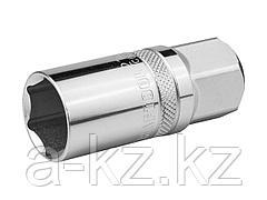 Торцовая головка KRAFTOOL 27813-21_z01, INDUSTRIE QUALITAT, свечная с магнитом, Cr-V, FLANK, хромосатинированная, 1/2, 21 мм