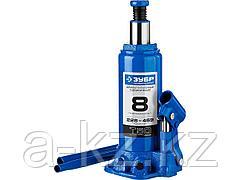 Домкрат гидравлический бутылочный ЗУБР 43060-8_z01, Профессионал, T50, 8 т, 228 - 459 мм
