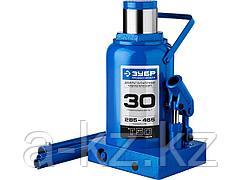 Домкрат гидравлический бутылочный ЗУБР 43060-30_z01, Профессионал, T50, 30 т, 285 - 465 мм