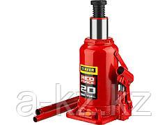 Домкрат гидравлический бутылочный STAYER 43160-20_z01, RED FORCE, 20 т, 242 - 452 мм