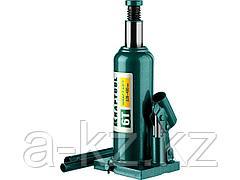 Домкрат гидравлический бутылочный KRAFTOOL 43462-6_z01, Kraft-Lift, сварной, 6 т, 220 - 435 мм