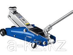 Домкрат гидравлический подкатной ЗУБР 43052-3_z01, Профессионал, T70, 3 т, 130 - 410 мм