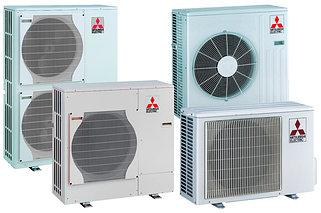Наружные блоки канальных кондиционеров Mitsubishi Electric серии Mr.Slim Deluxe Inverter, R410A