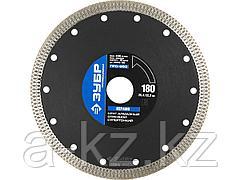 Алмазный диск отрезной по керамограниту ЗУБР 36659-180, ПРОФЕССИОНАЛ, супертонкий 180 х 25,4 х 22,2 мм