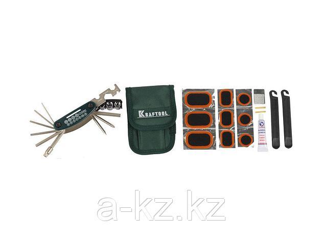Инструмент многофункциональный Мультитул KRAFTOOL 26184-H21, EXPERT, для обслуживания велосипеда, 21-в-1, фото 2