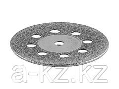 Алмазный мини диск насадка для гравера ЗУБР 35927, d 22х2,0 мм, 1шт.