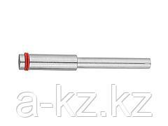 Оправка ЗУБР для отрезных и шлифовальных кругов, d 3,2х1,7мм, L 38мм, 35939