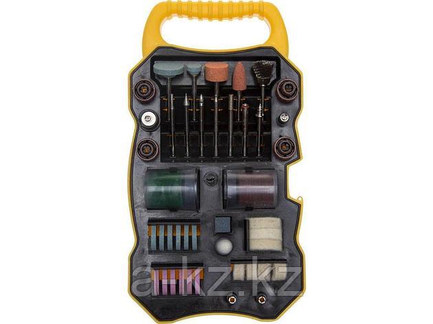 Насадки для гравера набор STAYER 29901-H82, MASTER, 82 предмета, пластиковый кейс, фото 2