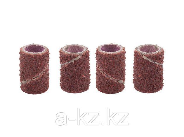 Шлифовальная лента ЗУБР 35917, абразивная, P 80, посадка d 6,3, L 12,7 мм, 4 шт, фото 2