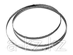 Полотно для ленточной пилы ЗПЛ-350-190 ЗУБР 155810-190-2 , L-1425мм, H-8,0мм, шаг зуба-2мм (12TPI), по дереву, материал углерод. сталь-65Г