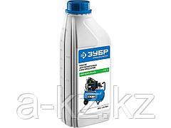 Минеральное масло для воздушных компрессоров ЗУБР ЗМК-ПС, ПНЕВМО-СТАНДАРТ, 1 л