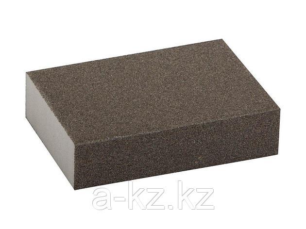Губка абразивная шлифовальная ЗУБР 35611-120, МАСТЕР, четырехсторонняя, средняя жесткость, Р120, 100 х 68 х 26 мм, фото 2