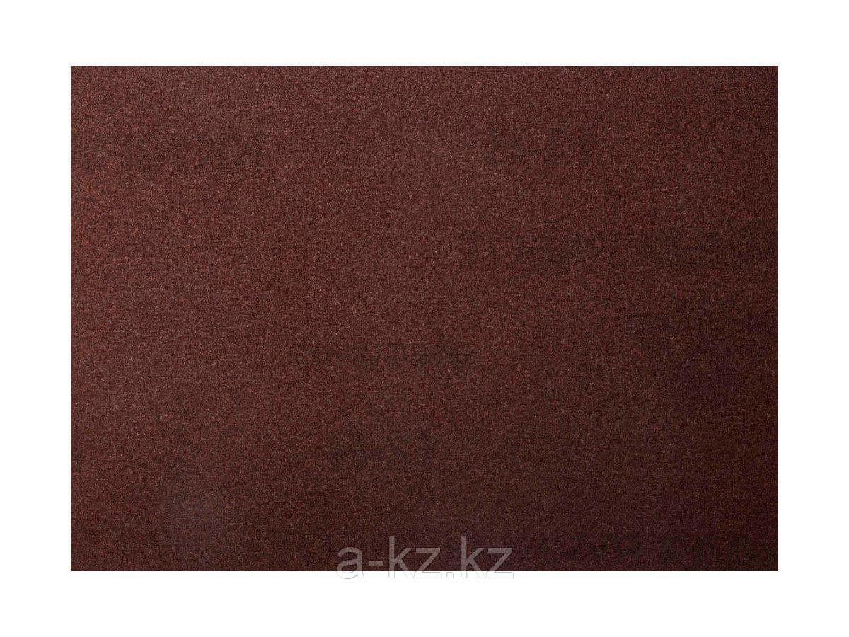 Шкурка шлифовальная 3544-10, водостойкая, на тканной основе, № 10, 17 х 24 см, 10 листов