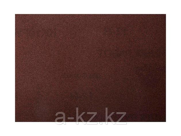 Шкурка шлифовальная 3544-10, водостойкая, на тканной основе, № 10, 17 х 24 см, 10 листов, фото 2