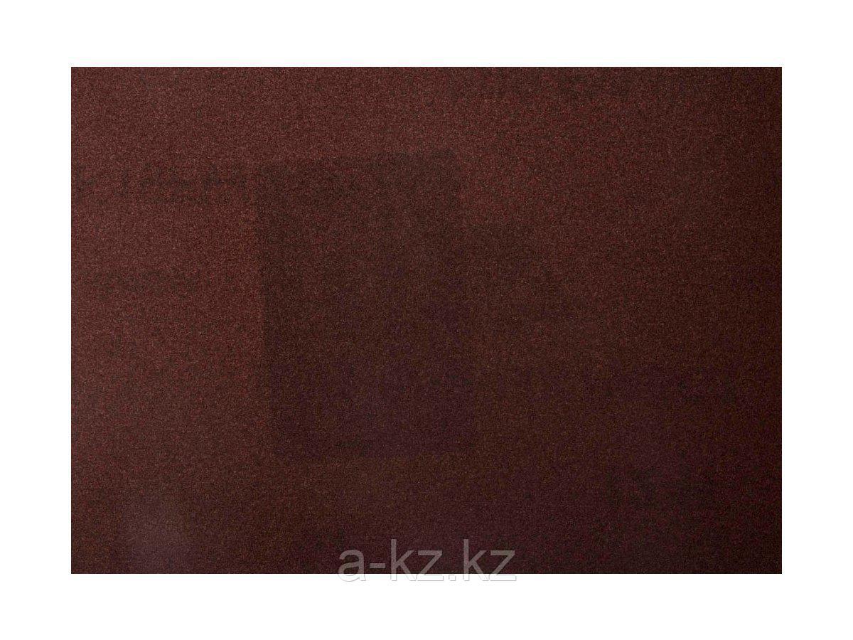 Шкурка шлифовальная 3544-20, водостойкая, на тканной основе, № 20, 17 х 24 см, 10 листов