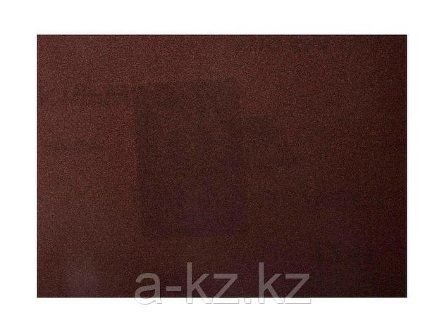 Шкурка шлифовальная 3544-20, водостойкая, на тканной основе, № 20, 17 х 24 см, 10 листов, фото 2