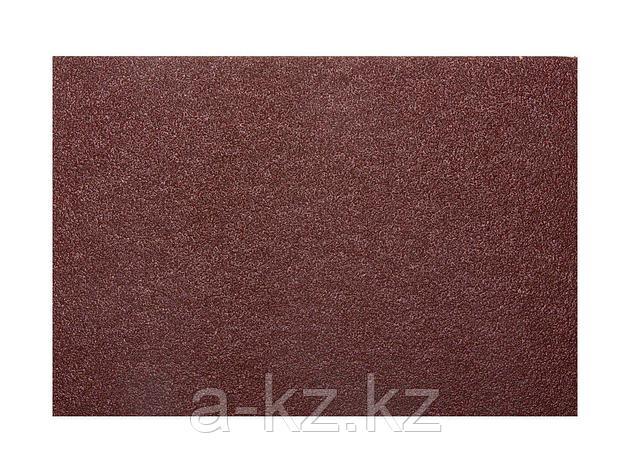 Шкурка шлифовальная 3544-40, водостойкая, на тканной основе, № 40, 17 х 24 см, 10 листов, фото 2