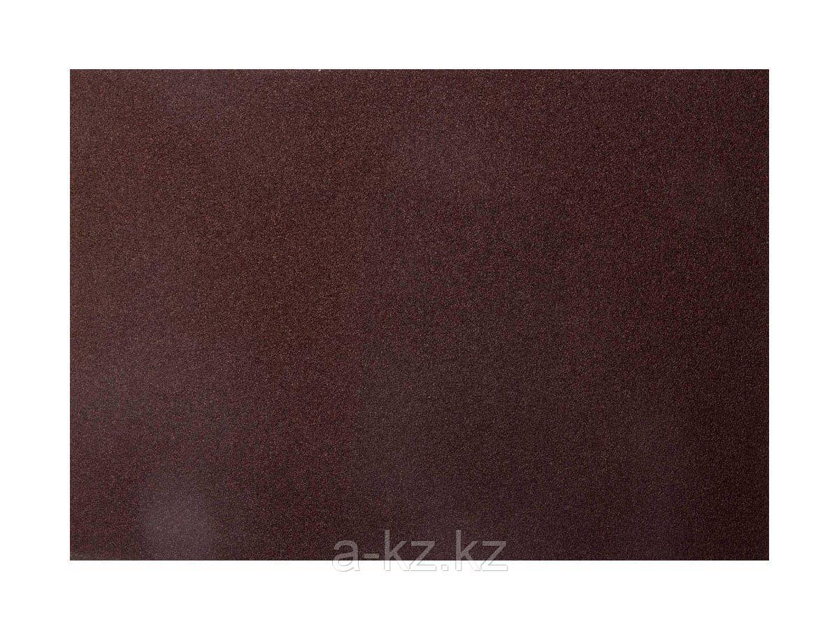 Шкурка шлифовальная 3544-06, водостойкая, на тканной основе, № 6, 17 х 24 см, 10 листов