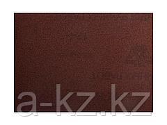 Шкурка шлифовальная 3544-08, водостойкая, на тканной основе, № 8, 17 х 24 см, 10 листов