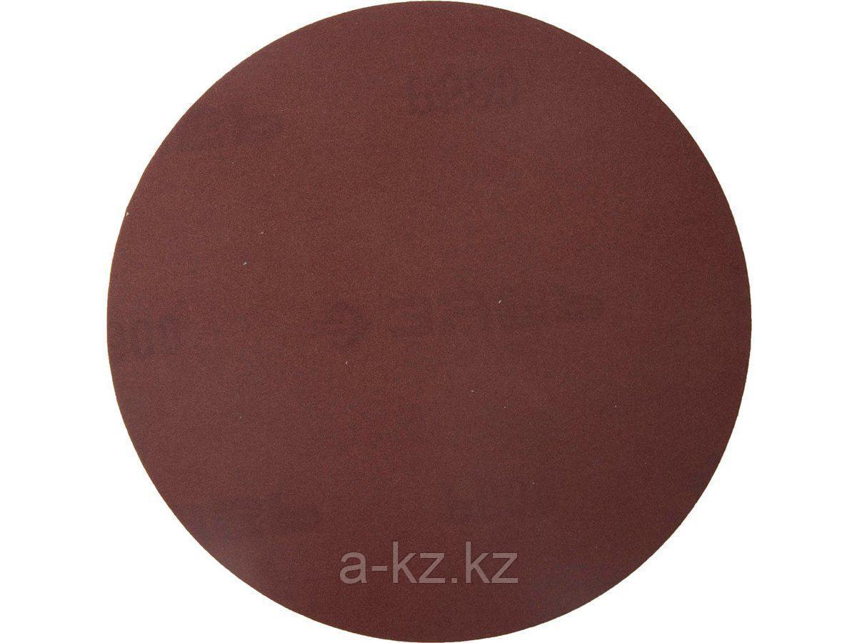 Круг шлифовальный на липучке ЗУБР 35561-115-600, МАСТЕР, универсальный, из абразивной бумаги на велкро основе, без отверстий, Р600, 115 мм, 5 шт.