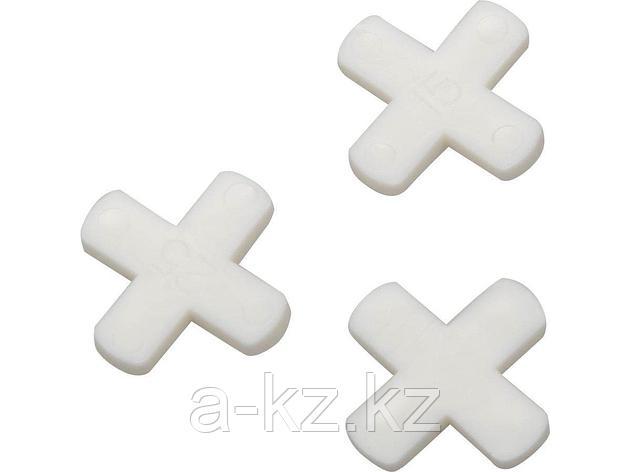 Крестики STAYER для кафеля, 6мм, 75шт, 3380-6, фото 2
